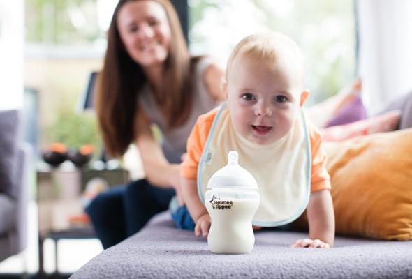 Bảo vệ bé bú an toàn với bình sữa chống đầy hơi