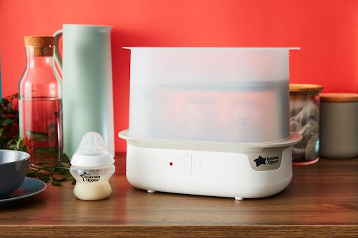 Mẹo hay cho bình sữa sạch chỉ với chiếc máy tiệt trùng bằng hơi nước – Mẹ cũng bỏ túi ngay kinh nghiệm mua sản phẩm uy tín
