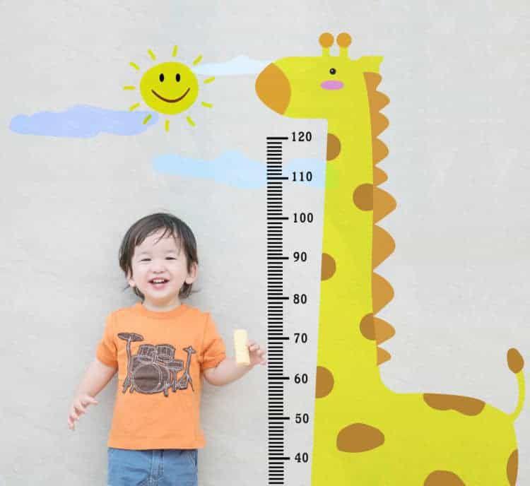 Bảng chỉ số chiều cao, cân nặng của trẻ và 6 yếu tố quyết định tầm vóc