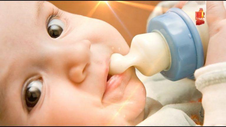 Mẹo giúp con sơ sinh bú bình thành thạo như bú mẹ !!!